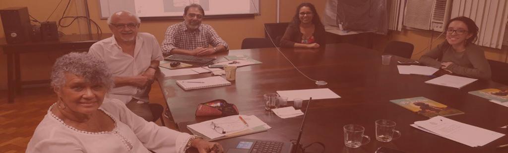 Reunião presencial da Coordenação Executiva
